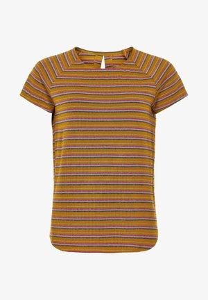 NUBUNTY - Print T-shirt - buckthorn brown