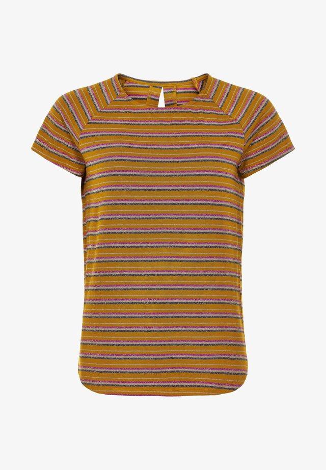 NUBUNTY - T-shirt print - buckthorn brown