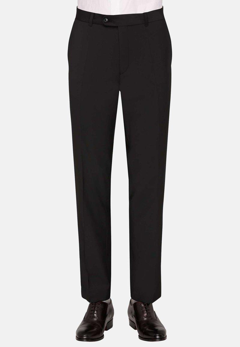 Carl Gross - Suit trousers - schwarz