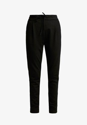 VMEVA STRING PANTS  - Tracksuit bottoms - black