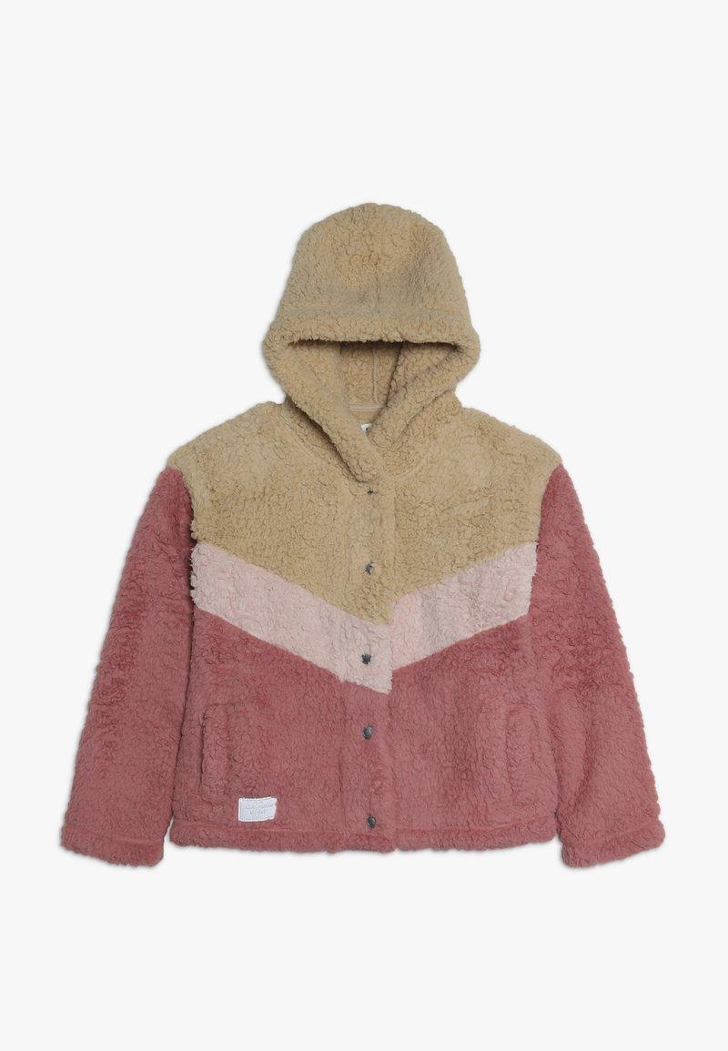Abercrombie & Fitch - CHEVRON COZY - Lehká bunda - pink