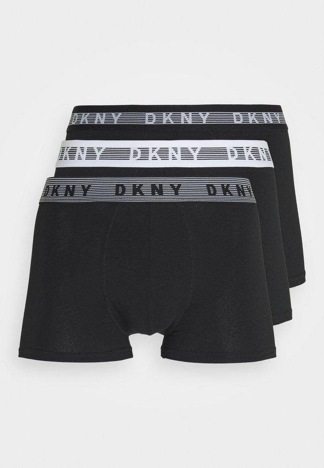 TRUNKS LOS ANGELES 3 PACK - Pants - black