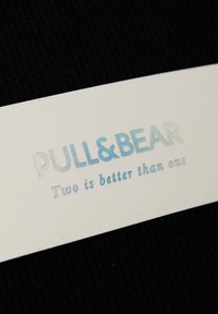 PULL&BEAR - T-shirts basic - black - 6