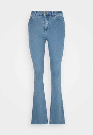 EVA FLARE TROUSER - Flared jeans - denim