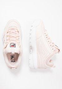 Fila - DISRUPTOR KIDS - Sneakers - rosewater - 0