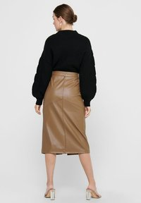 ONLY - Pencil skirt - warm sand - 4