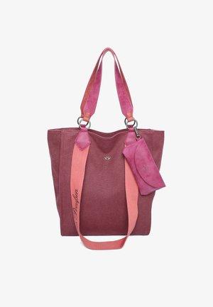 IZZY - Shopping bag - granat