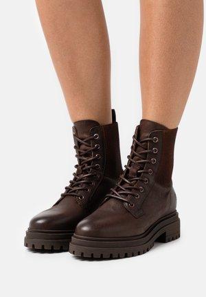 LEA - Veterboots - dark brown