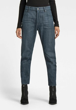 Relaxed fit jeans - worn in leaden