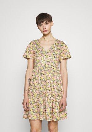 VINATALIE SHORT DRESS - Jersey dress - dark olive
