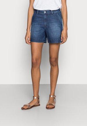 DENIM - Denim shorts - blue dark wash