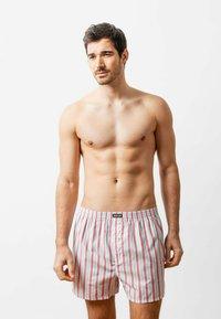 SNOCKS - WOVEN - 3 PACK - Boxer shorts - stripe - 1