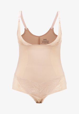 CURVY FIRM FOUNDATIONS BODYBRIEFER - Body - body beige