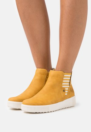 Ankle boots - gelb