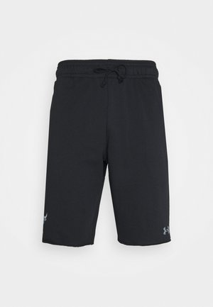 PROJECT ROCK TERRY SHORTS - Pantalón corto de deporte - black