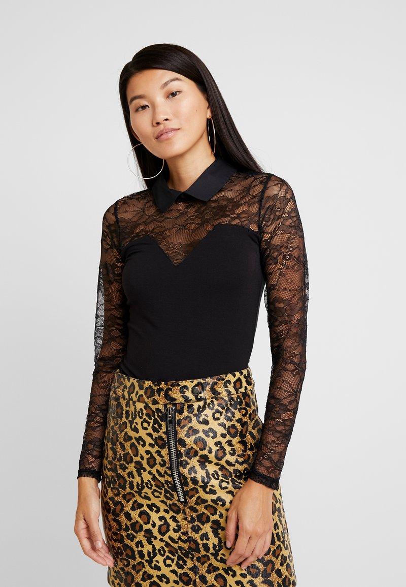 Morgan - Long sleeved top - noir