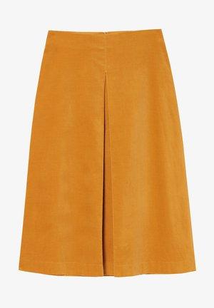 LOFO - Áčková sukně - yellow