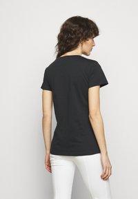 Patrizia Pepe - MAGLIA - Print T-shirt - nero - 2