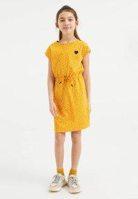 WE Fashion - Day dress - yellow - 0