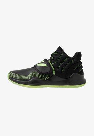 DEEP THREAT CLOUDFOAM BASKETBALL SHOES - Basketbalové boty - core black/signal green