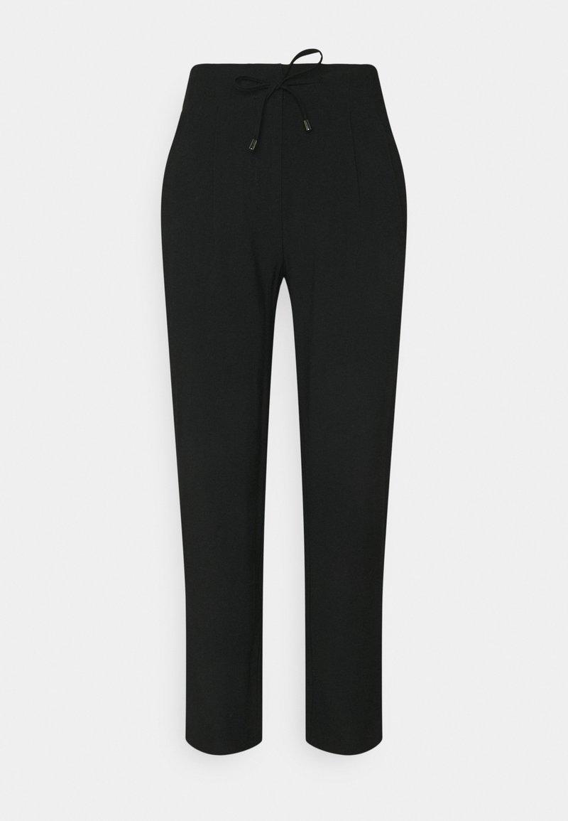 ONLY - ONLAIA  STRING PANT - Tygbyxor - black
