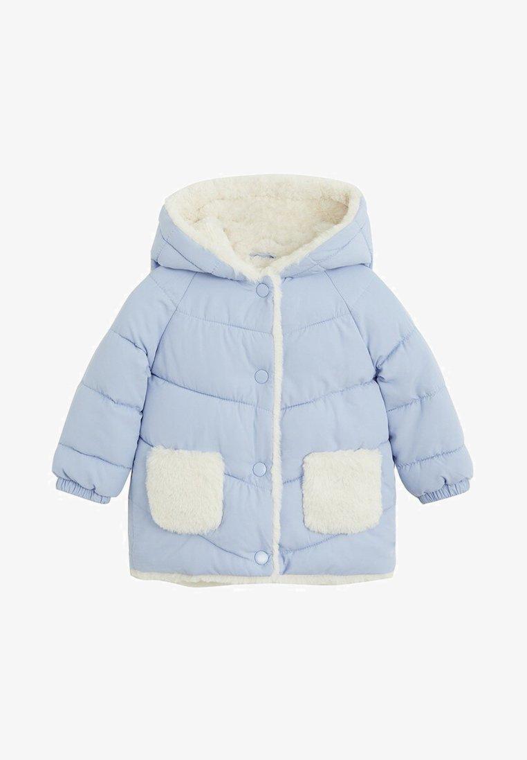 Mango - TEDDY7 - Zimní kabát - sky blue