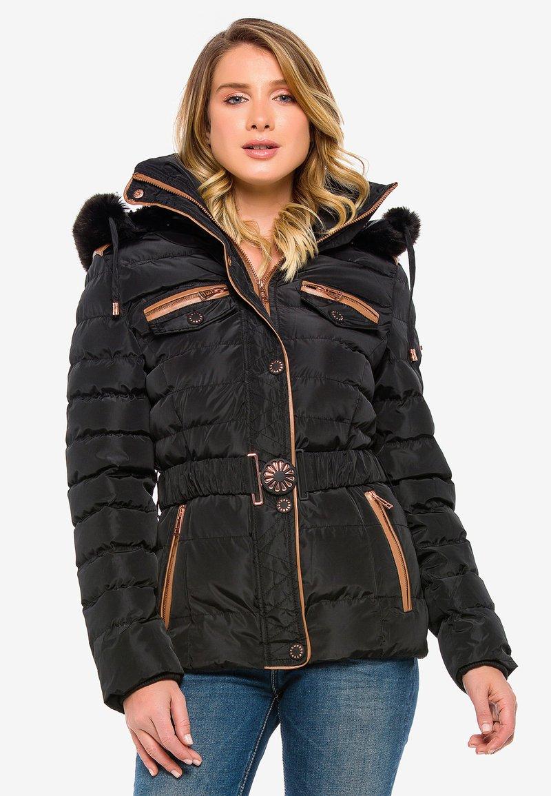 Cipo & Baxx - Winter jacket - black