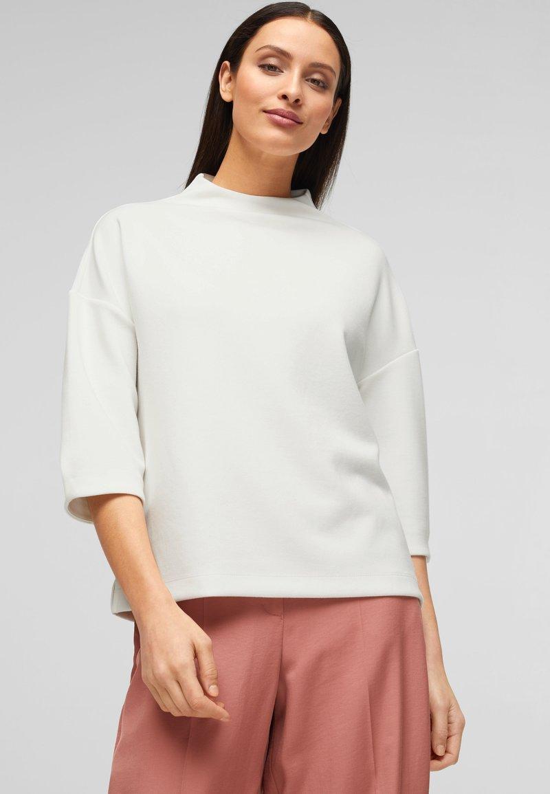 s.Oliver BLACK LABEL - Sweatshirt - white