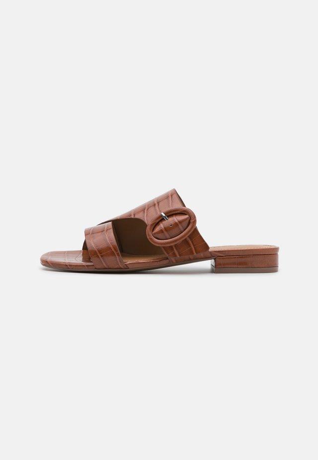 CHARLI - Klapki - bombay brown