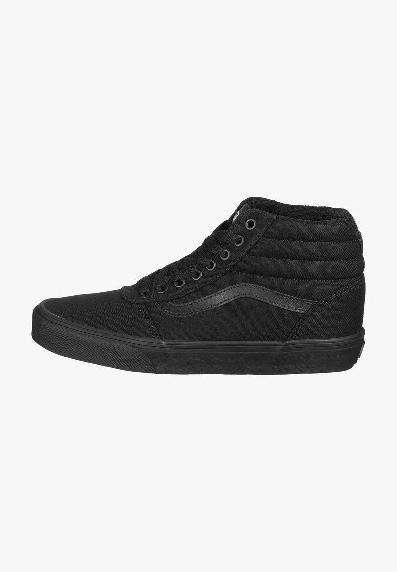 Vans - WARD HI  - Trainers - black  black