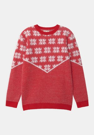 CHRISTMAS - Jumper - high risk red