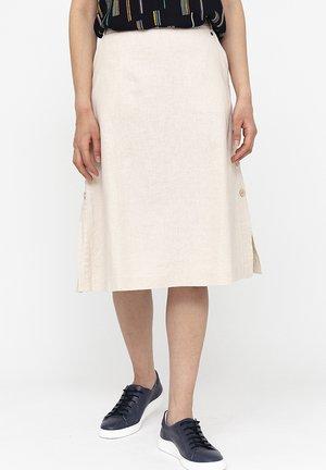 A-line skirt - kaschmir