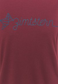 Zimtstern - ECOFLOWZ WOMENS - Print T-shirt - windsor wine/french navy - 2