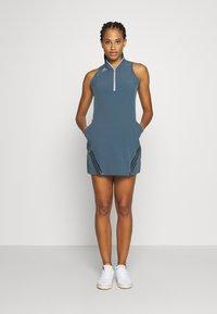 adidas Golf - 3 STRIPE DRESS - Sportovní šaty - legacy blue - 1