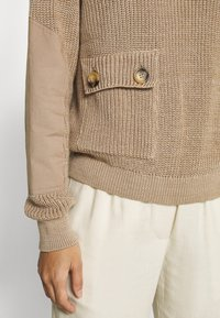 Another-Label - DARA - Pullover - sand melee - 7