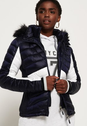 OFFSHORE LUXE CHEVRON  - Winter jacket - royal blue