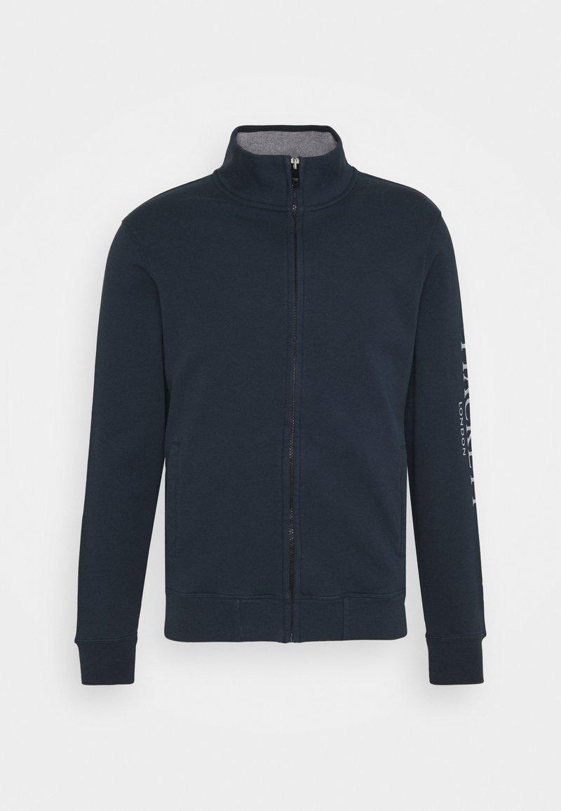 Hackett London - Zip-up hoodie - navy