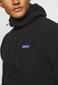 Patagonia - TECHFACE HOODY - Fleece jacket - black - 5