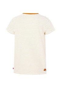 WE Fashion - T-shirt imprimé - orange - 3