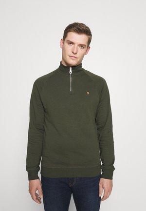 JIM ZIP - Sweatshirt - evergreen