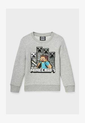 MINECRAFT  - Sweatshirt - graymelange