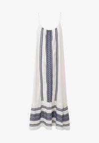 OYSHO - STRAPPY  - Day dress - white - 6