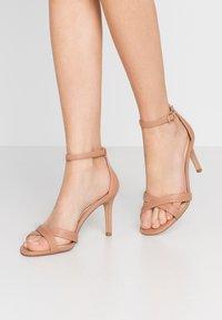 Head over Heels by Dune - MADIHA - High heeled sandals - nude - 0
