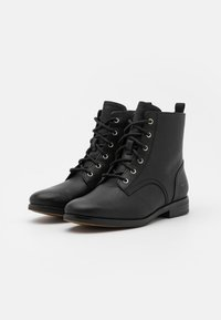Timberland - SOMERS FALLS LOW LACE UP - Schnürstiefelette - black - 2