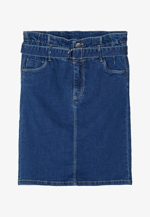 LMTD JEANSROCK HIGH WAIST SLIM FIT - Farkkuhame - medium blue denim