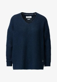 Marc O'Polo DENIM - LONG SLEEVE - Jumper - royal blue - 5