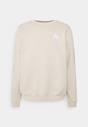 COLORBLOCK CREWNECK - Sweater - beige