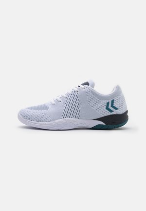 OMNICOURT ENGINEERED - Handball shoes - white