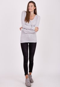 Key Largo - Jumper - grey mel. - 1