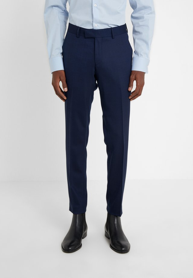 GORDON - Suit trousers - country blue